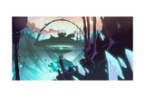 Ratchet And Clank: All 4 One - Environment Concept Art Posters