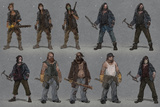 Last of Us: Concept Art - Character Group Art Posters