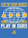 Playstation Brand Art Foto