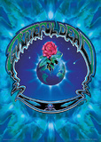 Grateful Dead- Earth Rose Prints by Richard Biffle
