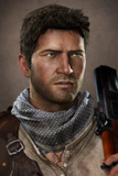Uncharted 3: Drake's Deception - Character Render of Drake Posters