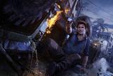 Uncharted 4: A Thief's End - Key Art Kunstdrucke