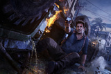 Uncharted 4: A Thief's End - Key Art Stampe