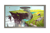 Ratchet And Clank: All 4 One - Environment Concept Art Print