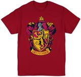 Harry Potter- Gryffindor Crest Camiseta