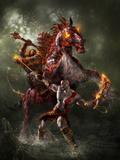 God of War: Key Art Stampe