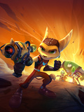 Ratchet And Clank: All 4 One - Key Art Poster