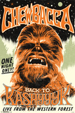 Star Wars- Chewbacca Back On Kashyyyk Pósters