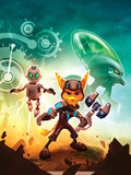 Ratchet And Clank: Future Series - A Crack in Time Key Art Stampe