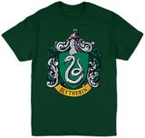 Harry Potter- Slytherin Crest Skjorte