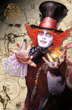Alice In Wonderland 2- Mad Hatter Stiching Time Prints