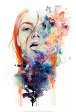 This thing called art is really dangerous Plakater af Agnes Cecile