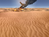 Uncharted 3: Drake's Deception - Key Art of the Crash Site Posters