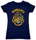Juniors: Harry Potter- Hogwarts Crest T-Shirts