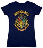Juniors: Harry Potter- Hogwarts Crest T-Shirts