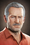Uncharted 3: Drake's Deception - Character Render of Sully Posters