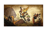 Ratchet And Clank: Future Series - Quest for Booty Story Art Kunstdruck