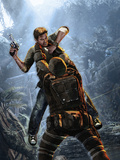 Uncharted 2: Among Thieves - Key Art Stampe