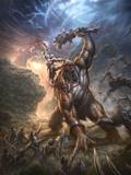 God of War: Key Art Affiche