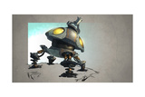 Ratchet And Clank: All 4 One - Environment Concept Art Prints