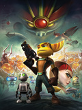 Ratchet And Clank: Future Series - Tools of Destruction Key Art Poster