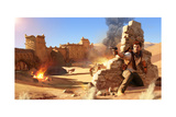 Uncharted 3: Drake's Deception - Key Art Photo