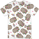 Womans: Pusheen- Ice Cream - T-shirt