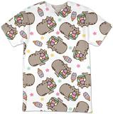 Womans: Pusheen- Ice Cream T-Shirt