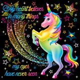 My Heart Believes Prints by Lisa Frank