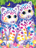 Sasha and Shanti Prints by Lisa Frank