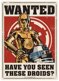 Star Wars - Droids Tin Sign