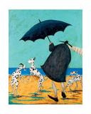 On Jack's Beach Giclee Print by Sam Toft