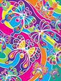 Butterflies '99 Prints by Lisa Frank