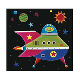 Spaceship 2 Giclee Print by Simon Hart