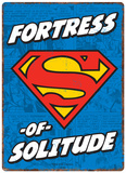 Superman - Fortress of Solitude Blikskilt