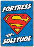 Superman - Fortress of Solitude Plechová cedule