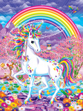 Rainbow Mischief Art by Lisa Frank