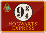 Harry Potter - Hogwarts Express Plaque en métal