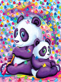 LuLu and LingLing Print by Lisa Frank