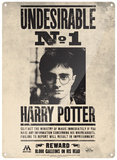 Harry Potter - Undesirable 1 Tin Sign