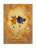 Carrying on Regardless Giclee Print by Sam Toft