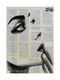 Never Know Again Giclee Print by Loui Jover