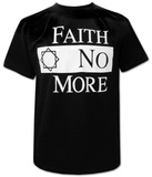Faith No More- Classic Logo Black T-Shirt