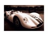 1958 Lister Jaguar 62 Giclee Print by Jamie Hankin