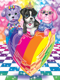 Puppy Love Prints by Lisa Frank