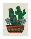 Cacti Giclee Print by Jane Foster