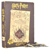 Harry Potter - Marauder's Map 500 Piece Puzzle Jigsaw Puzzle