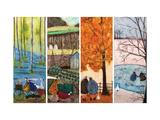 Which is Your Favourite Season Giclée-Druck von Sam Toft