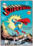 Superman - Zap Plechová cedule