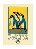 For the Zoo, Book to Regent's Park Giclee Print by  Transport for London